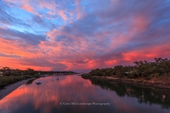 Boyne River Sunset